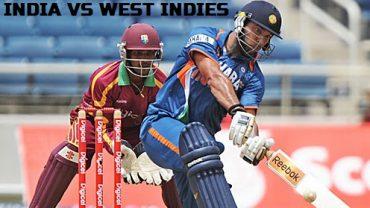 WEST INDIES VS INDIA T20::