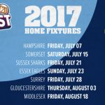 Essex  VS   Somerset  11:00PM  13:07:2017