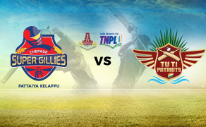 Chepauk Super  VS  Gillies Albert TUTI Patriots 01 08 17 06:45PM