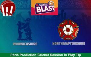 Northamptonshire VS  Warwickshire 01 08 17 10:28PM