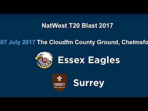 SURREY VS ESSEX 19 07 2017 10:30P