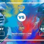 Trinbago Knight Riders VS St Lucia Stars 08 08 17 04:30AM