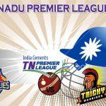 Chepauk Super Gillies VS  Ruby Trichy Warriors 09.08.17 6:45PM