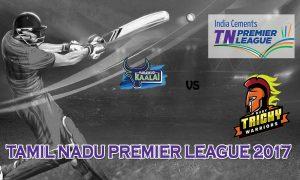 Karaikudi Kaalai  VS  Ruby Trichy Warriors 11 08 17 6:45PM