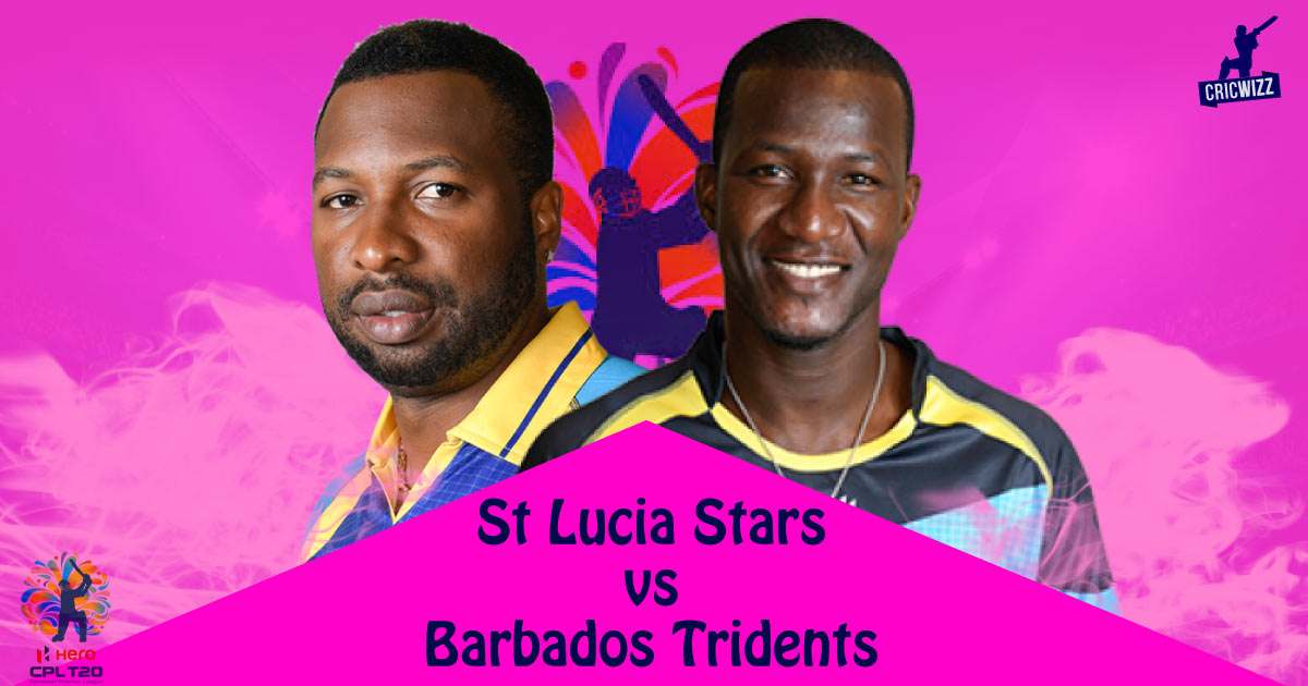 Barbados Tridents VS St Lucia Stars 01 09 17 05:00AM