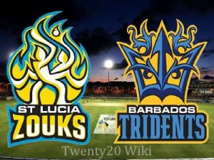 St Lucia Stars VS  Barbados Tridents 10 08 17 5:00AM