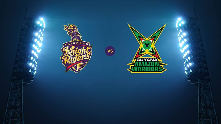 Guyana Amazon Warriors vs Trinbago Knight Riders 19 08 17 09:00pm