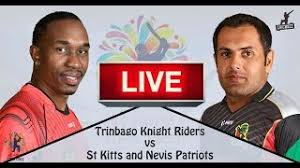 Trinbago Knight Riders vs St Kitts and Nevis Patriots, 13th Match