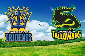 JAMAICA TALLAWAHS VS BARBADOS TRIDENTS 08 06 17 12:00AM