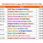 Belagavi Panthers VS  Bengaluru Blasters 08 09 17 02:30PM