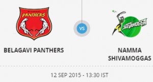 Belagavi Panthers Namma Shivamogga 16 09 2017 2:40PM