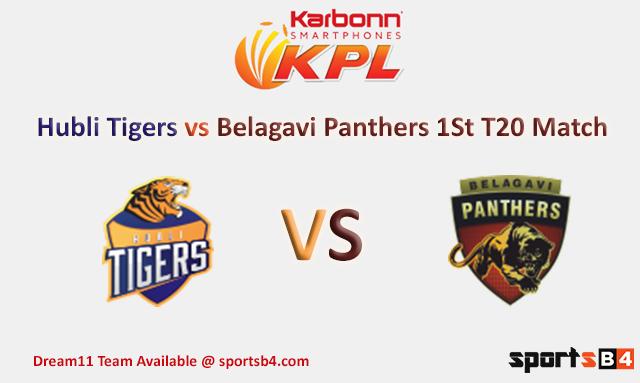 BELAGAVI PANTHERS VS HUBLI TIGERS 01 09 17 06:30PM