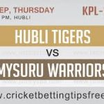 HUBLI TIGERS VS MYSURU WARRIORS 14 09 17 06:40PM