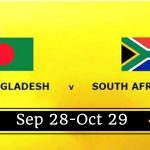 28 09 2017 01:00PM South Africa VS Bangladesh