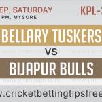 Bellary Tuskers VS  Bijapur Bulls 09 09 17 02:40PM