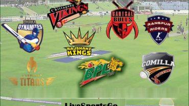 BPL 03 10 2017 Teams Squads